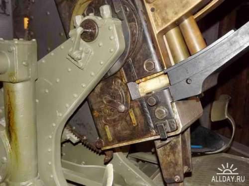 Фотообзор - британская зенитная пушка  Bofors 40mm