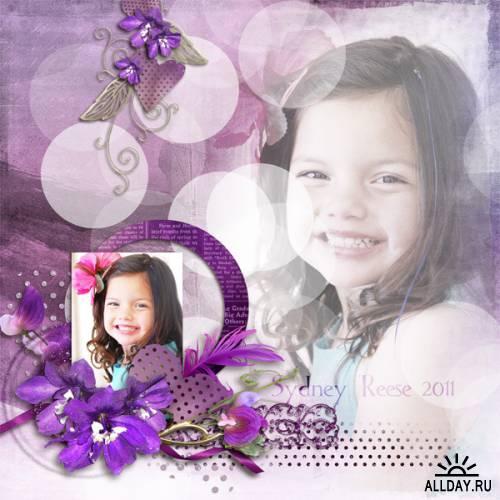 Scrap kit  Purplesque