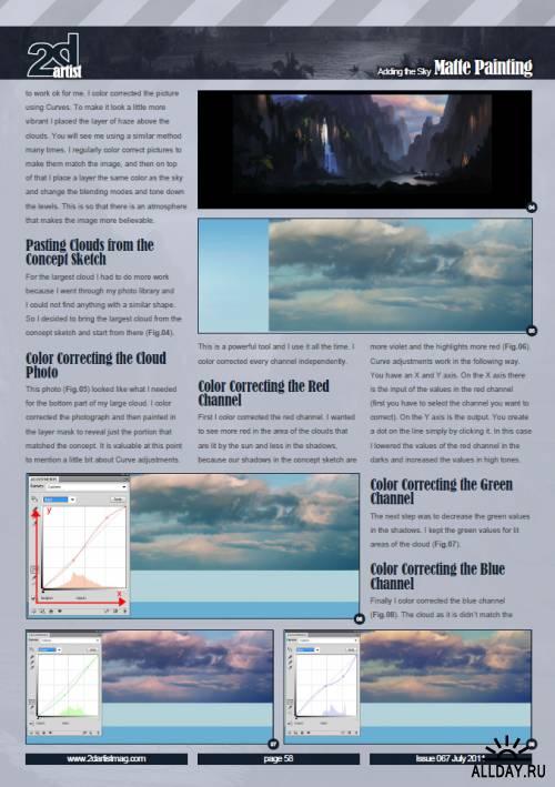 2DArtist Issue 067 - July 2011