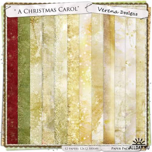 Scrap kit  Christmas Carol