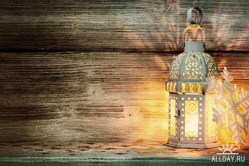 Новогодний фонарик 2 - Растровый клипарт | Christmas Lantern 2 - UHQ Stock Photo