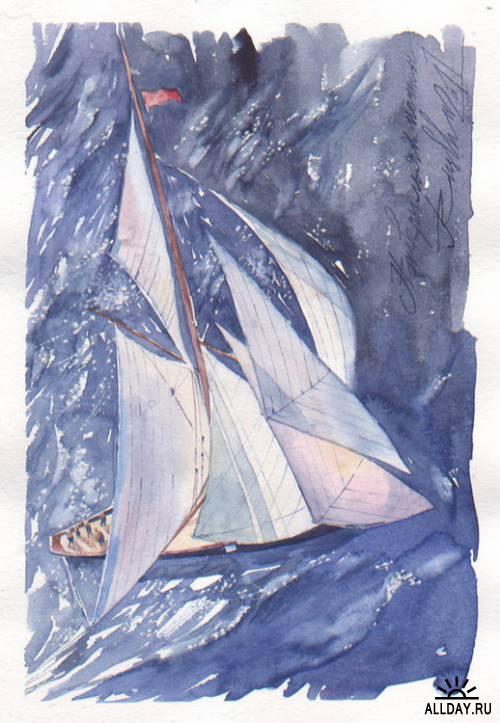 Иллюстрации ruslhu