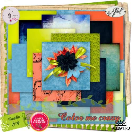 Scrap set - Color me crazy