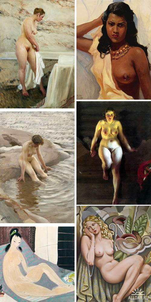 Modern Woman - Collection of Paintings