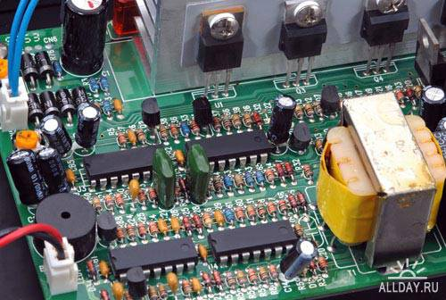 Stock Photo: Electronic board | Электронная плата