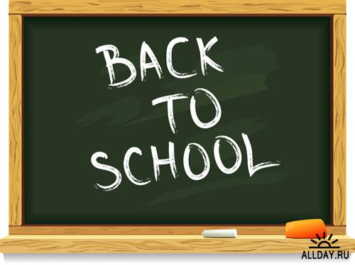 Снова в школу - Векторный клипарт | Back to school - Stock Vectors