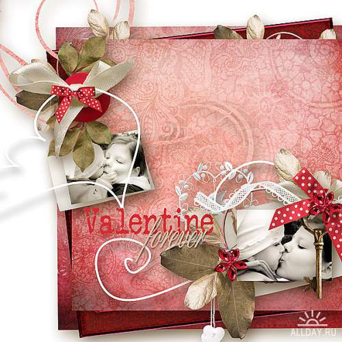 Скрап-набор Valentine Forever