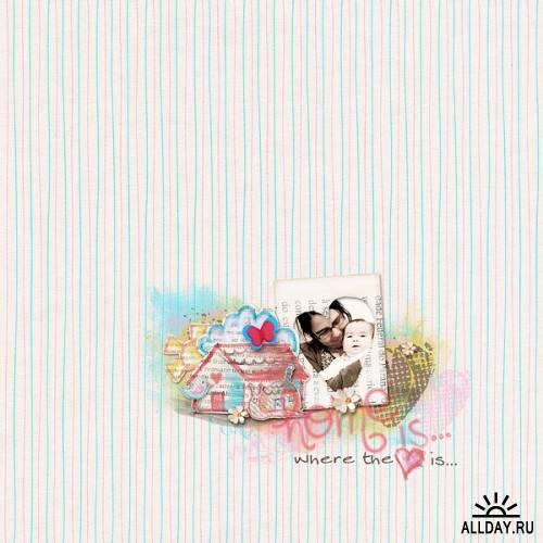 Scrapkit - My Lil' Sweet Home