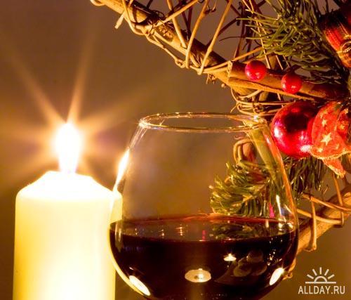 Candles and gift   Свечи и подарки