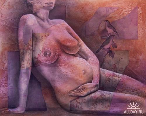 Работы художника Carrie Vielle
