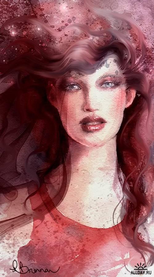 Pat Brennan. Digital Art