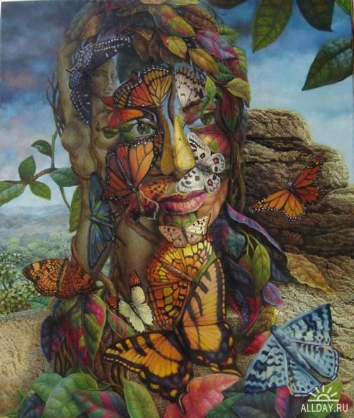 Кубинский художник Jorge Ignacio Nazabal