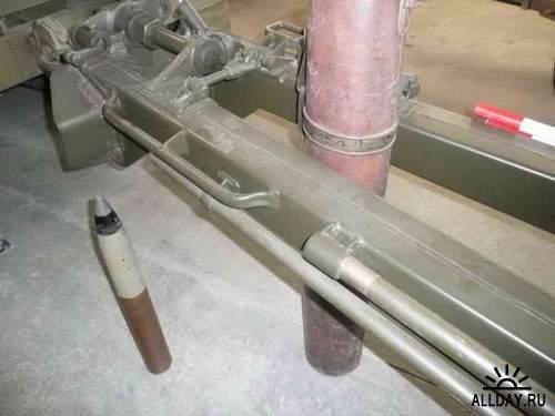 Фотообзор - американская пушка калибра 75mm M1897 on M2A3