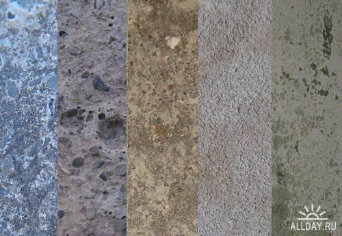 Concrete old plaster Textures | Текстуры - бетон и старая штукатурка