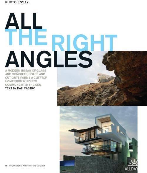 Architecture & Design Magazine - Winter 2011