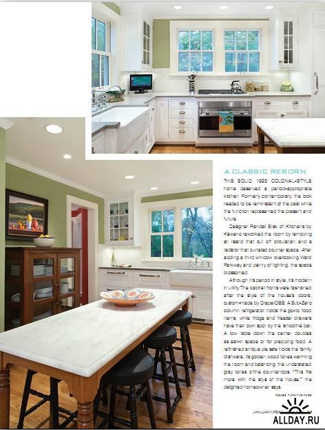 Kansas City Homes & Gardens - January/February 2012