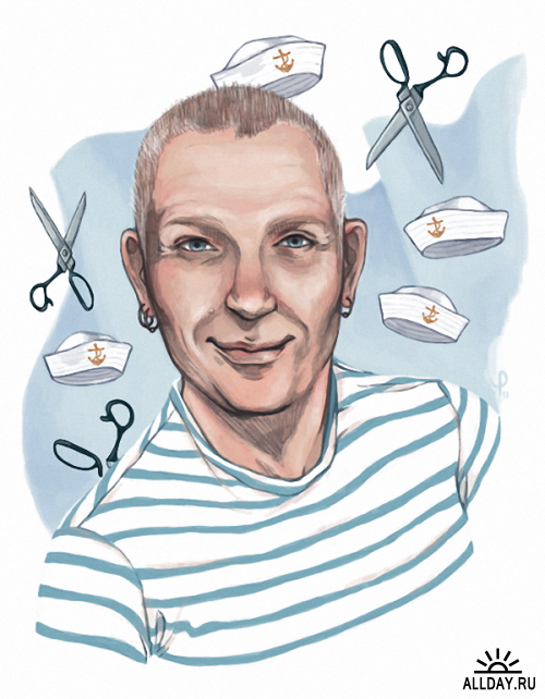 Иллюстратор Paule Trudel-Bellemare