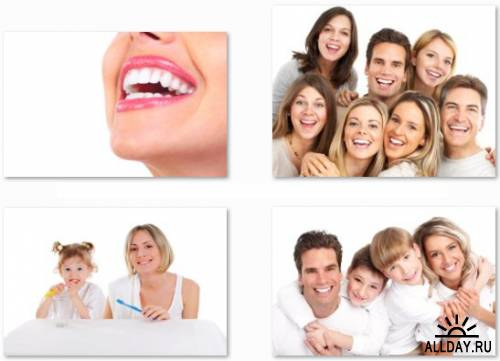Beautiful and Healthy Smile - 25 HQ JPEG Stock Photo