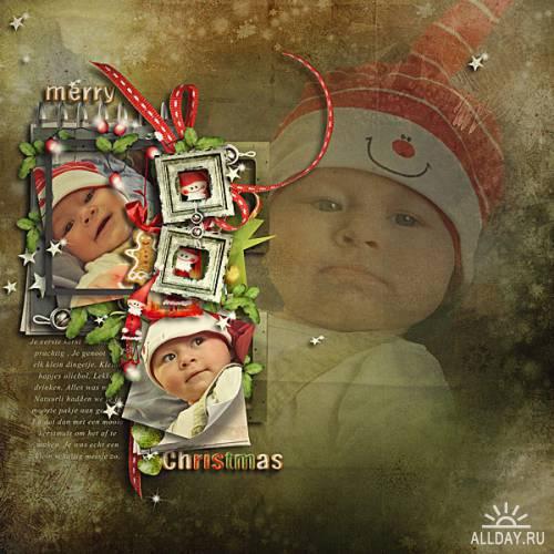 Scrap kit  Merry Christmas
