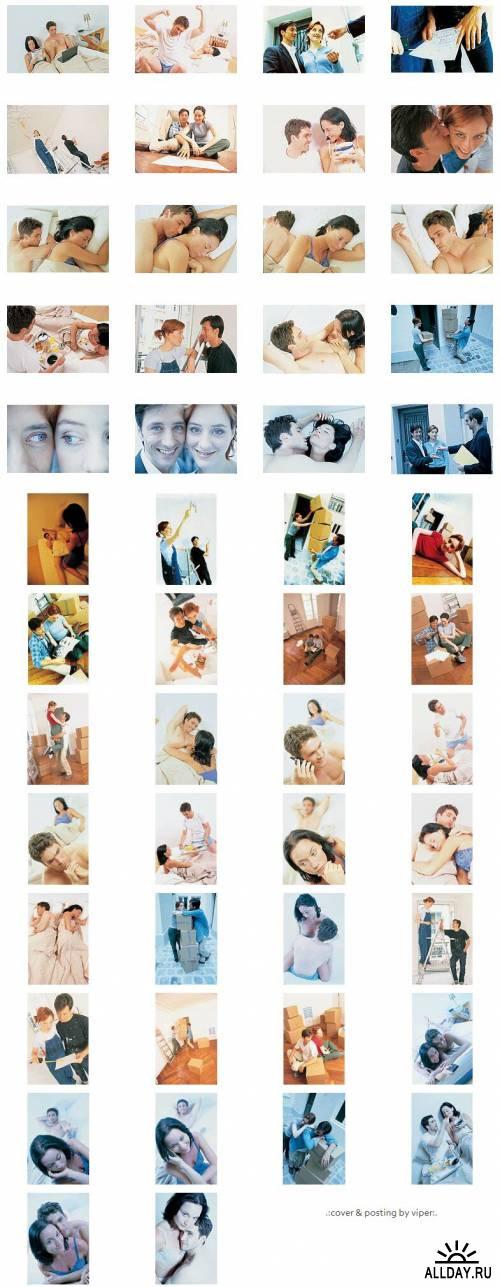 Растровый клипарт - Любовное гнездышко (CD010)
