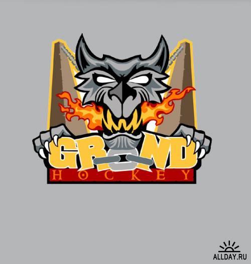 Логотипы и талисманы футбольных и хоккейных команд Средиземья