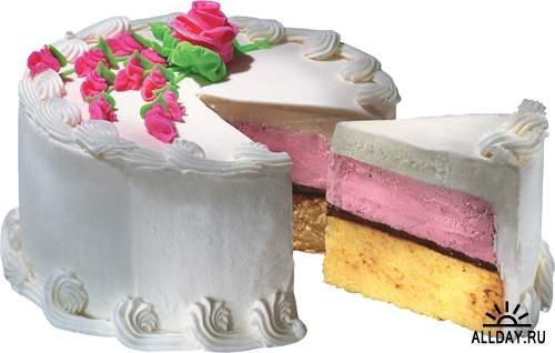 Сладкие торты - подборка стоковых изображений (часть вторая)