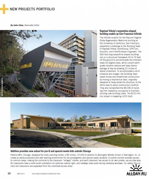 Building Design+Construction Magazine May 2011