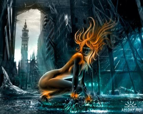 Wallpapers Fantasy girls №2
