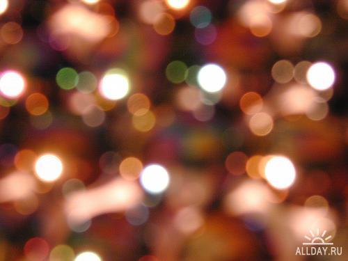 Набор Новогодних фонов