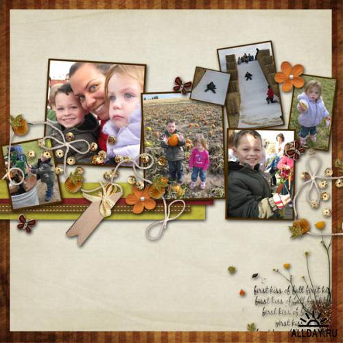 Scrapkit - First Kiss of Fall