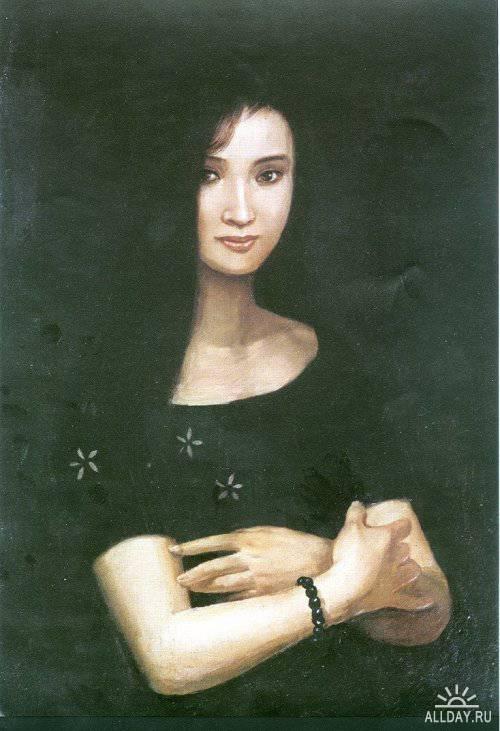 Портреты  женщин (Portrait of chinese women)