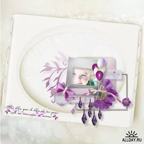 Скрап-набор Flown Flowers,  Part. 2