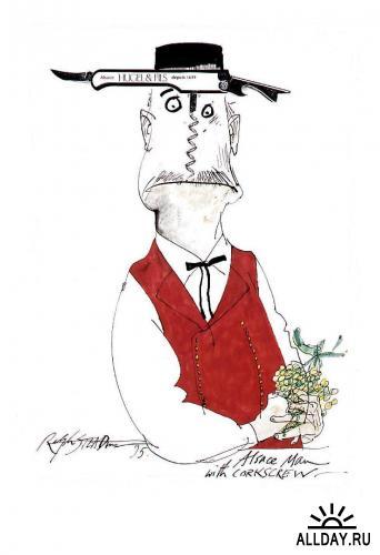 Иллюстрации Ralph Steadman