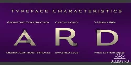 Aviano Gothic Font Family - 6 Font