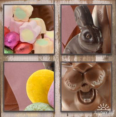 Cajoline - Easter Chocolate - Commercial Use