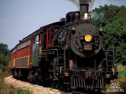 Сборник фотографий на тему поезда для рабочего стола выпуск 3