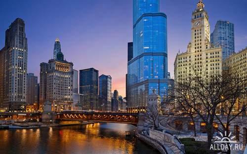 Города в фото для фона рабочего стола
