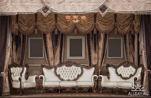Клипарт - Старинная комната