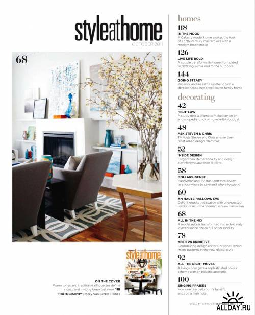 Style at Home №10 (октябрь 2011) / Canada