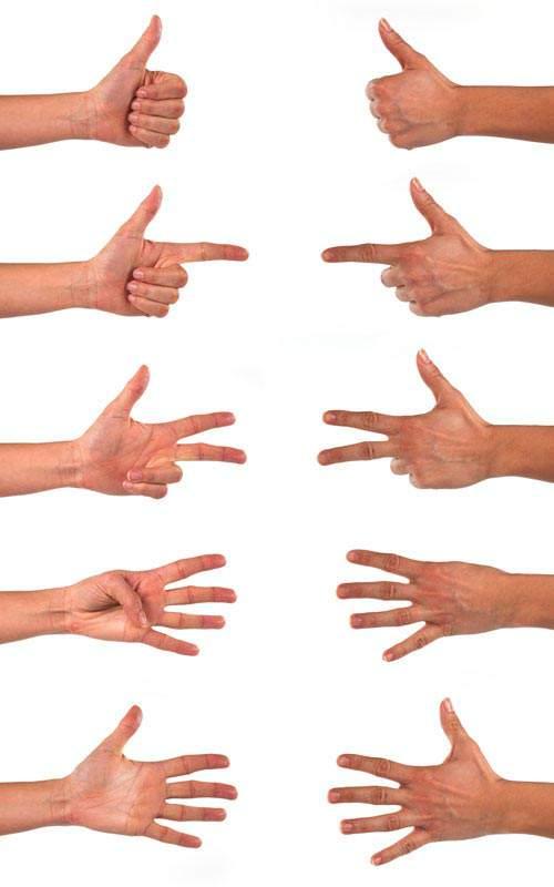 Жесты рук | Hands gestures