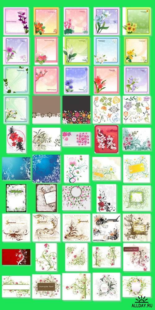 Beautiful Flowers 2 [JPEG,EPS,AI]