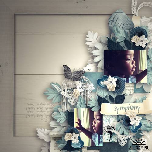 Скрап-набор - Spring Symphony