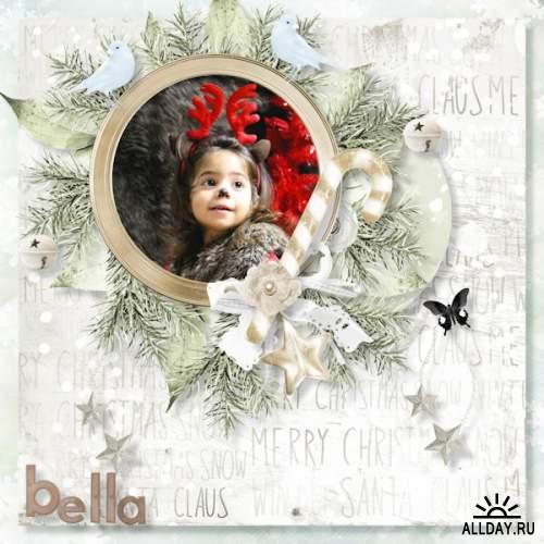 Скрап-набор Silent Christmas