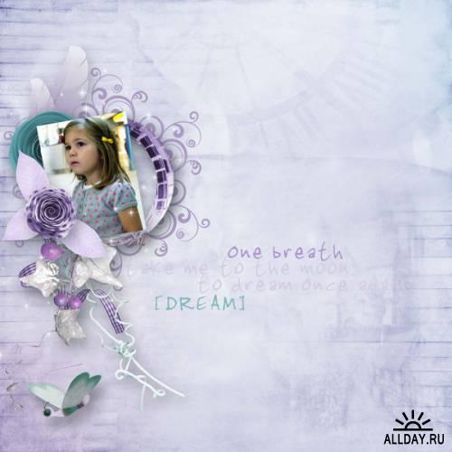 Скрап-набор - Bluedream