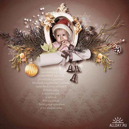 Скрап-набор Unforgettable Christmas
