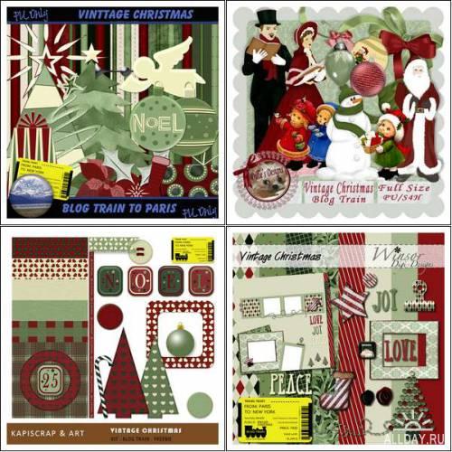 Scrap kit - Vintage Christmas