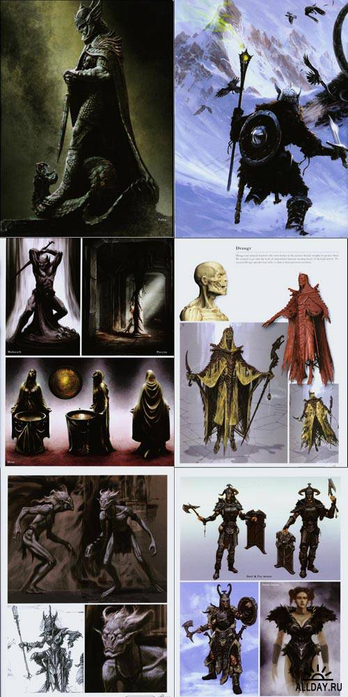 The Art of Skyrim' Official Artbook
