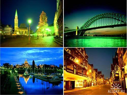 Night City Lights Wallpapers Pack #2 - Красивые обои!