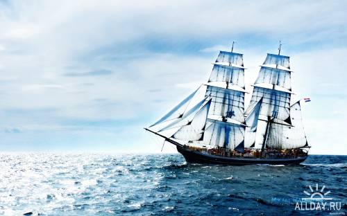Обои: Парусные Корабли