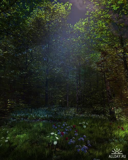25 Fantastic Natural Backgrounds Vol.11